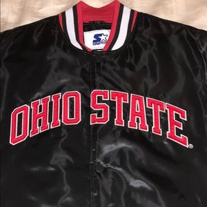Ohio State Bomber Jacket (Starter + XHIBITION)